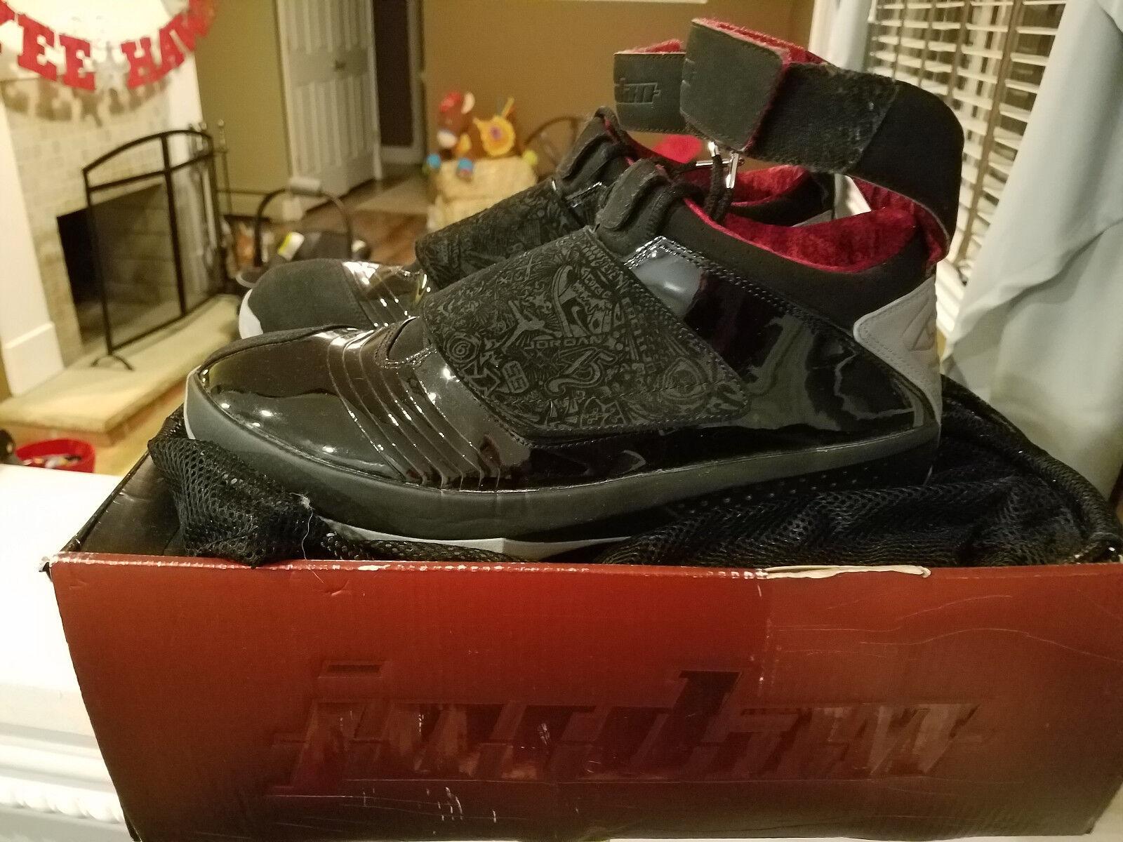 Nike Air Jordan 20 XX Stealth Stealth Stealth Sz 12 2005 Laser 310455-001 Original OFFERS Retro 41e193