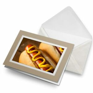 Greetings-Card-Biege-Hot-Dog-with-Yellow-Mustard-21700