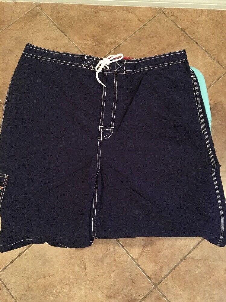 New Polo Ralph Lauren Mens XL Kailua Swim Trunks Board Shirts Navy NWT