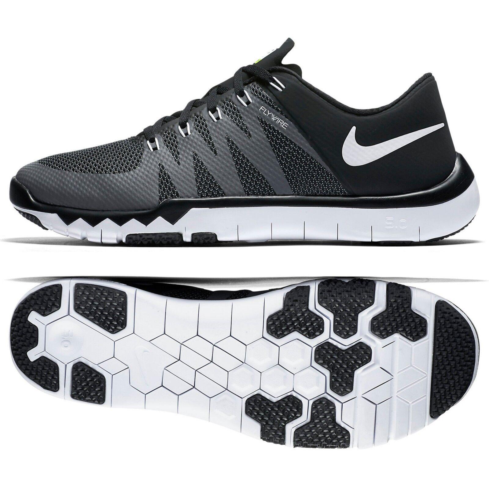 Nike Free Trainer 5.0 V6 719922-010 Black Dark Grey White Men's Training shoes