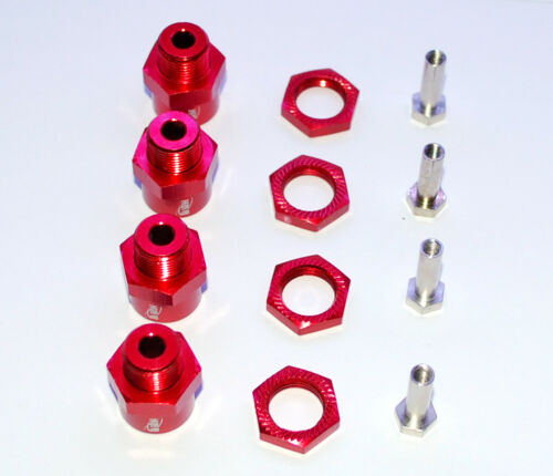 1//10 RC Car Wheel Hex Adapter 12mm to 17mm for Traxxas Rustler Stampede Bigfoot