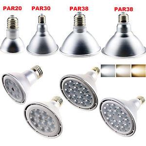 dimmable e26 e27 e14 led spotlight bulb par20 par30 par38. Black Bedroom Furniture Sets. Home Design Ideas