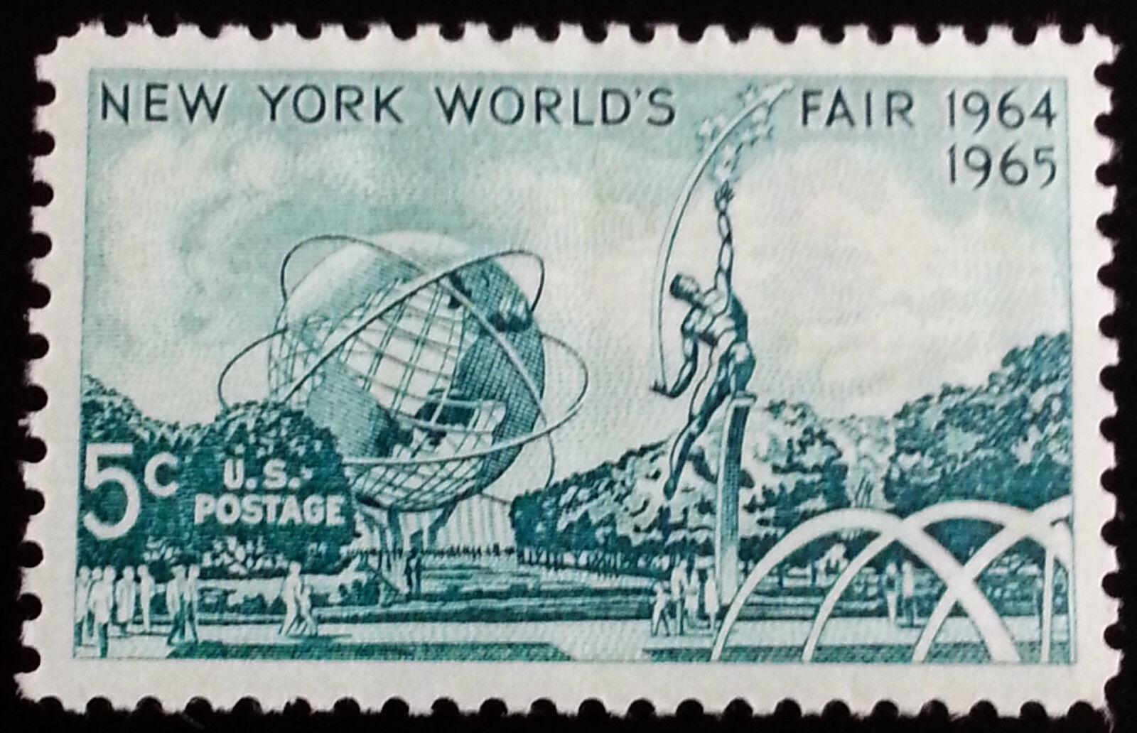 1964 5c World's Fair, New York Scott 1244 Mint F/VF NH