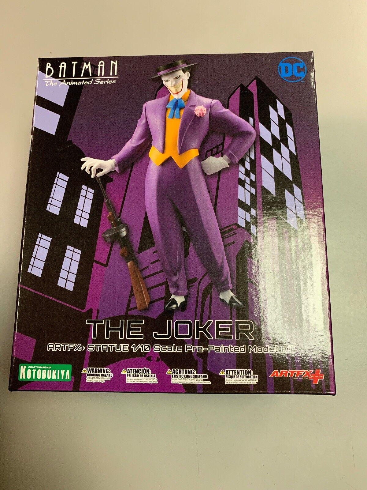 Batman The Animated Series The Joker ARTFX Kotobukiya PRE-PAINTED MODEL KIT