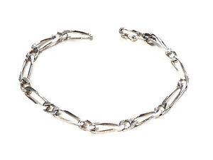 Bijou-argent-925-bracelet-maille-figaro-bangle