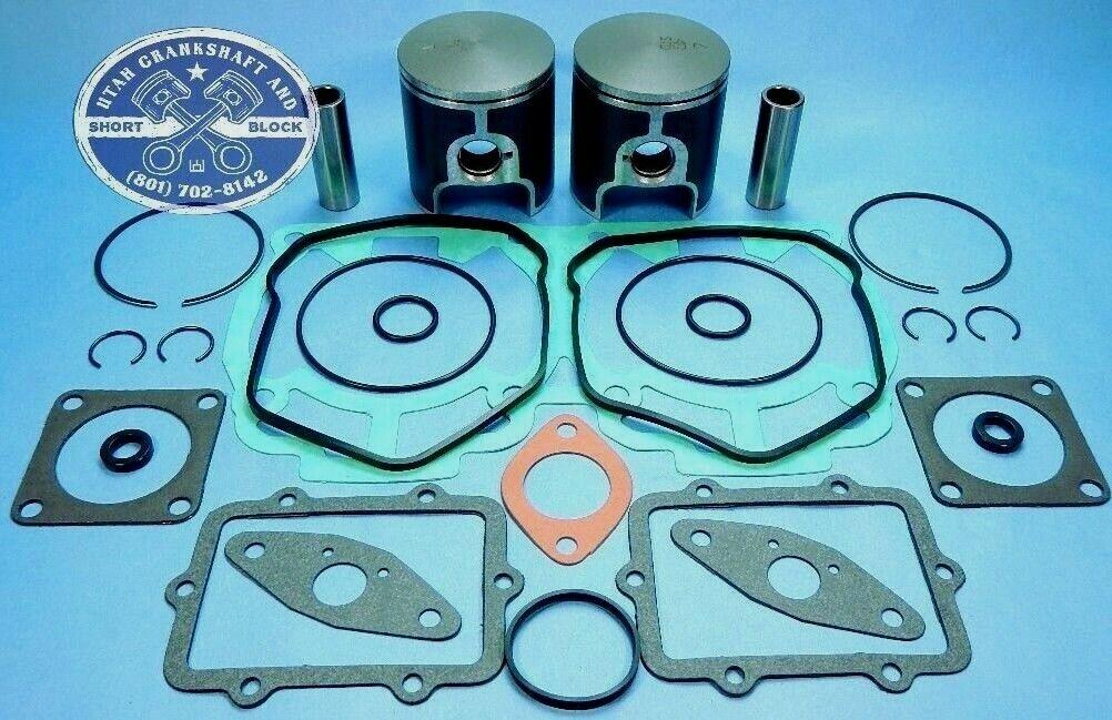 NEW SKI-DOO 440 PISTONS TOP END GASKET KIT 2000-2006 00-06 MX Z X MXZ MX-Z