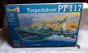 Revell-No-05048-Torpedoboat-PT-117-1-72-OVP-Bausatz