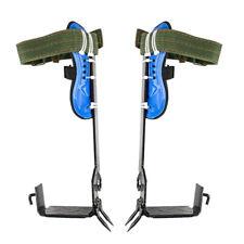 Iron Tree Climbing Spike Kit Safety Adjustable Belt Lanyard Rope Rescue 2gears