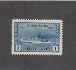 CANADA (MK3718) # 262 VF-MLH $1 TRIBAL CLASS DESTROYER /1942 CAT VALUE $100