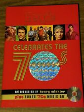 People Weekly Celebrate The 70s HC Book CD Star Wars Olympic SNL Elvis Ali Bowie