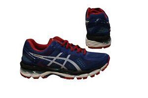 Dettagli su Asics Gel Kayano 22 lacci basse sneaker uomo running casual T547N 4201 D136 mostra il titolo originale