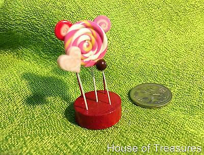 LOLLIPOP CANDY DONUTS** BARBIE MOVIE PARTY DOLLHOUSE Miniature Food **POPCORN