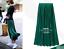 Women-Vintage-Metallic-Long-Midi-Pleated-Skirt-Stretch-High-Waist-Casual-UK