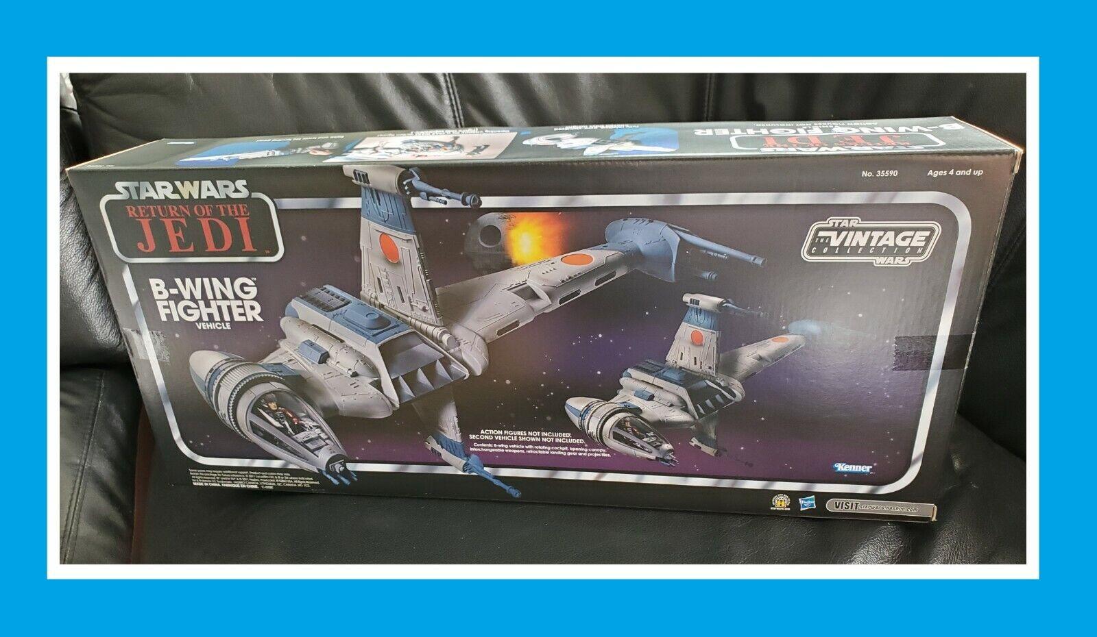 HASBRO Regreso del Jedi de Estrella Wars de la colección Vintage Kmart B-Wing Fighter