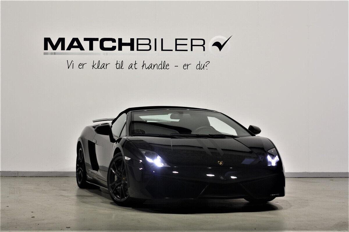 Lamborghini Gallardo 5,2 Spyder LP570-4 Performante 2d