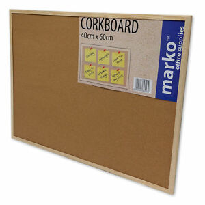 Cork-Notice-Pin-Board-Corkboard-Poster-Pin-Ups-Pinning-Lists