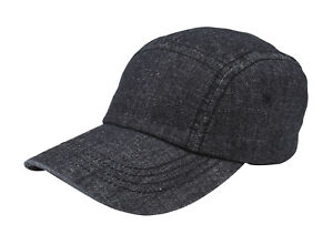 5-Panel-Washed-Denim-Cap
