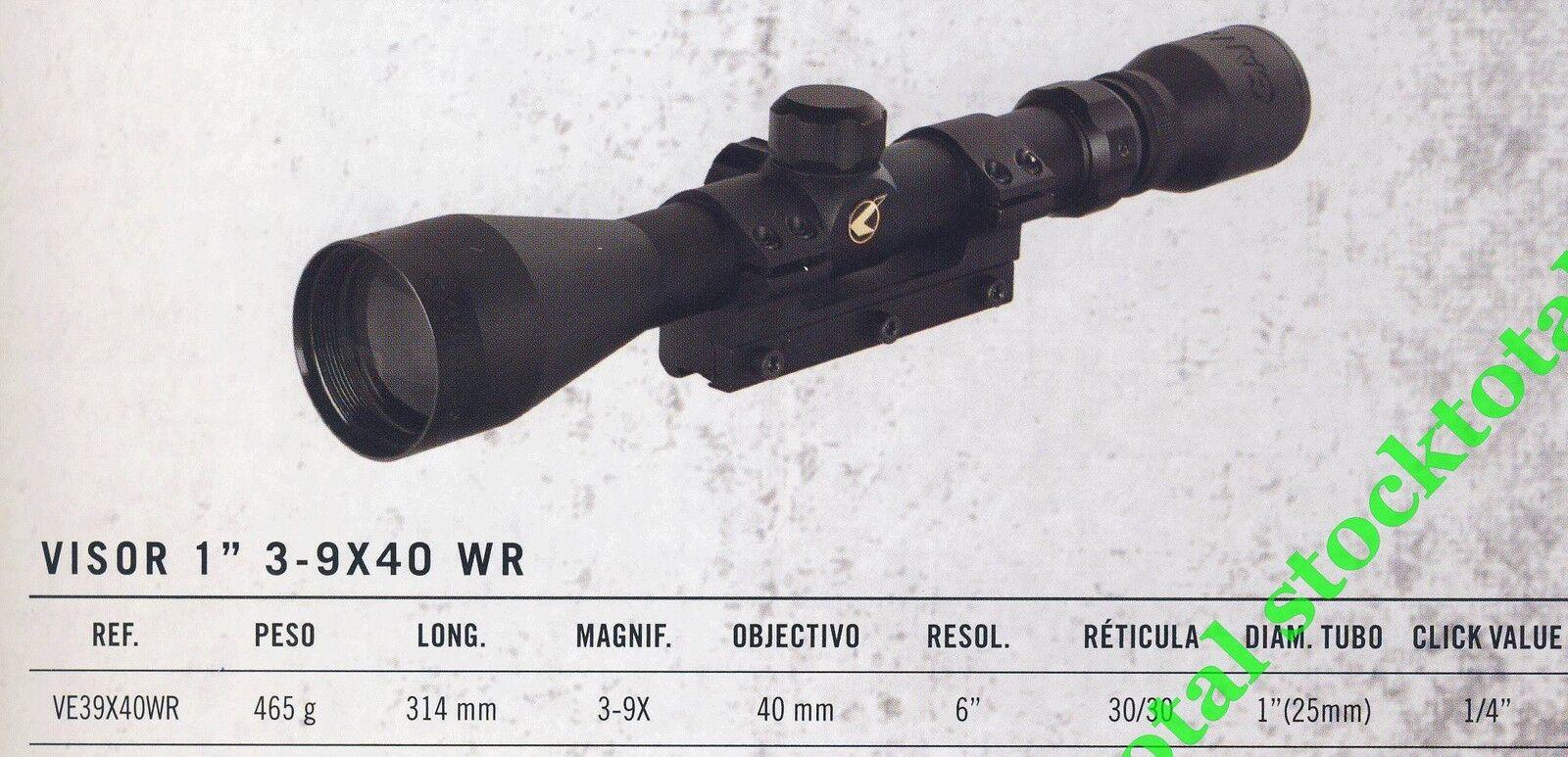 Visor telescopico gamo GAMO SERIE SPORTER 1  3-9X40WR  VE39X40WR G