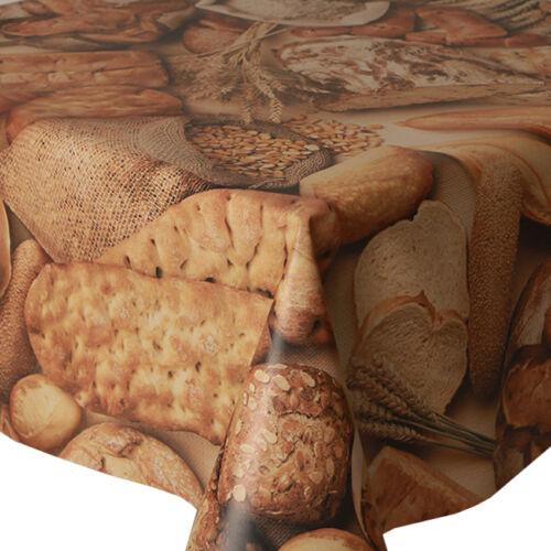 Pvc table cloth pain baguette blé orge grain latte essuyer capable protecteur