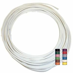 WHITE-11-TRACERS-THINWALL-1mm2-Automotive-Cable-Wire-16-5A-per-5-metres