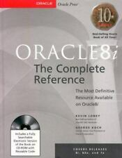 Oracle8i: The Complete Reference (Book/CD-ROM Package) Loney, Kevin, Koch, Geor