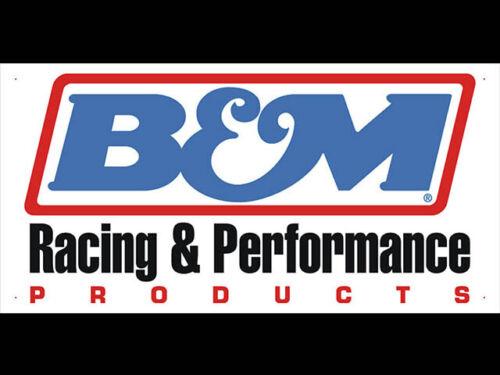 B/&M Racing /& Performance Shop Display Advertising Banner