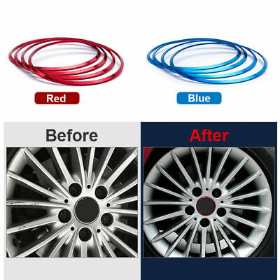 Wheel Hub Cover Decoration Circle Protection Stickers For BMW 3 5 7 Series X6 B2