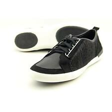 Calvin Klein Tanita Women US 7.5 Black Fashion Sneakers Pre Owned  1565