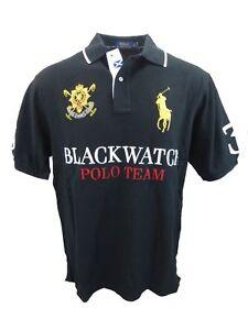 BIG /& TALL Ralph Lauren Mens S//S Blackwatch Mesh Polo Shirt