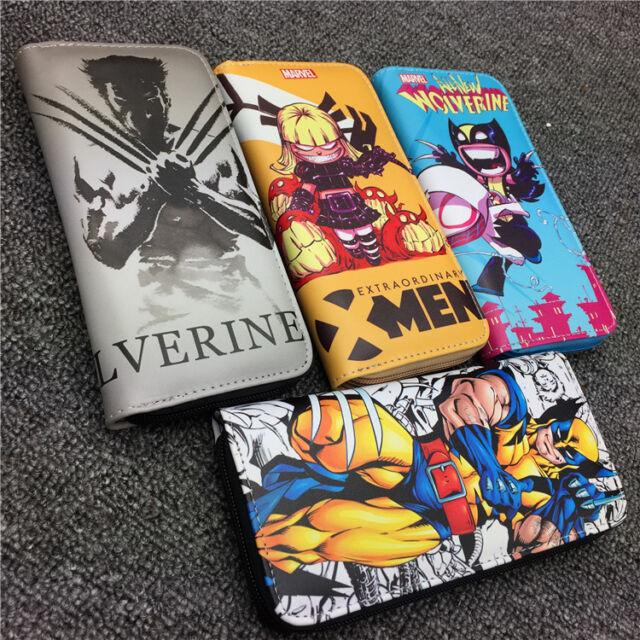MARVEL WOLVERINE COMIC BI-FOLD WALLET POP CULTURE DC COMICS X-MEN FAUX LEATHER