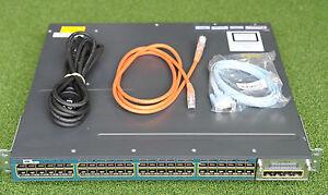 CISCO-WS-C3560X-48PF-E-48-Port-POE-IP-Services-Switch-1-YEAR-WARRANTY