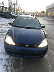 2001 for focus , clean title , fresh safety , Low Km