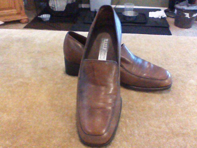 Munro American zapato mocasín Para Mujer Cuero Marrón-Tamaño 7 7 7 M  oferta de tienda