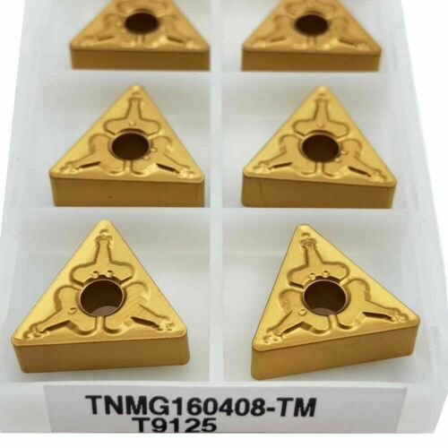 TNMG160408 TM lathe cutting carbide inserts for MTJNR 10pcs TNMG332-TM T9125