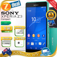 (new Sealed Box) Sony Xperia Z3 Compact D5833 4g Lte Unlocked Green + Oz Wty