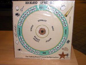 dbb7a412ef Image is loading Rare-RAYMOND-BUCKLAND-SPIRIT-BOARD-OUIJA-for-Talking-