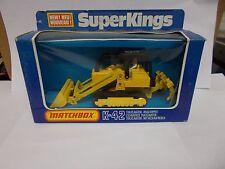 matchbox superking k-42 traxcavator road ripper boxed