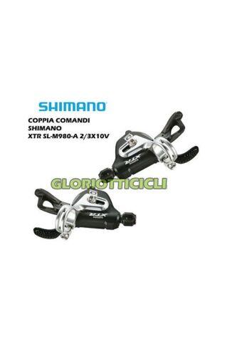 COPPIA COMANDI XTR SL-980-A 2//3X 10V SHIMANO