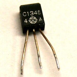 Pulled original transistor 2SC1345 Hitachi Group: E