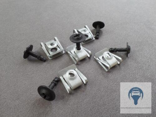 5 Set Protezione sotto Motore Sottoscocca Viti Audi A4 A5 A6 A7 A8 Q3 Q5