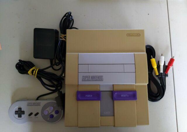 Vintage Super Nintendo Enterianment System Console W/Controller SNES