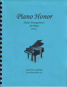Church Hymn Arrangements for Piano HONOR Pieces Solo Offertory Worship #7