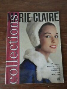 Adaptable Magazine Marie Claire Nr 71 Septembre 1960 Collections Mode Yves Montand Les Consommateurs D'Abord