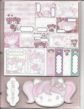 Sanrio Hello Kitty Sticky Notes Tabs Harajuku Cafe