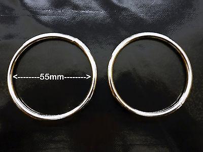 Welded Two 38mm // 1.5 inch Internal Diameter Metal Ring