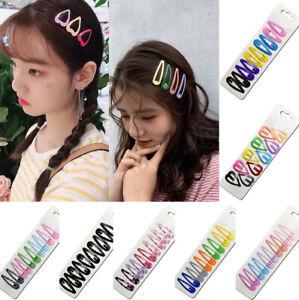 10Pcs-Girls-Bobby-Pin-Barrette-Hairpin-BB-Snap-Hair-Clips-Hair-Accessories-Gift