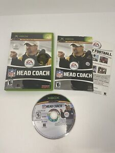 NFL Head Coach — Complete! Manual Included! Fast Shipping! (Microsoft Xbox 2006)