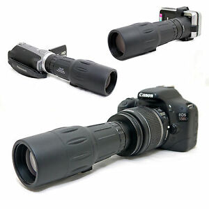 10x-42-1000mm-Telescope-for-Canon-EOS-Rebel-XTi-400D-Kiss-X-EF-s-18-55mm-Lens