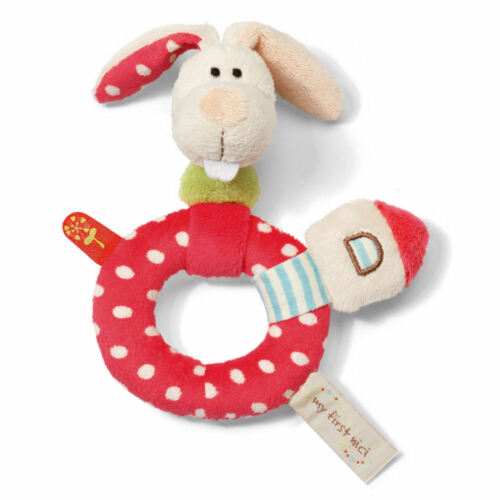 NICI Greifring Hase Tilli My First NICI Greifring Hase Tilli mit Rassel 35938
