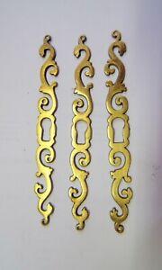 3 Entree De Serrure De Meuble Bronze Pr Porte Armoire Buffet Vitrine Xixè